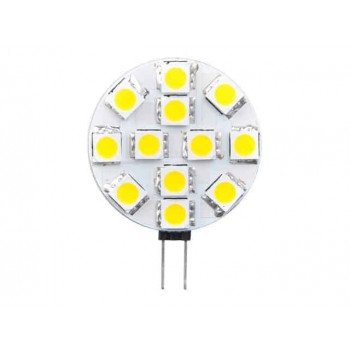 G4 LED halogeen vervanger plat 2W 2800k warm-wit