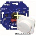 L+R TRIAC dimmer voor 230v LED Lampen + Frontje