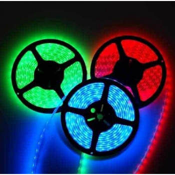 RGB LED STRIP 24V , 150 SMD 5050 LED'S IP44 5m