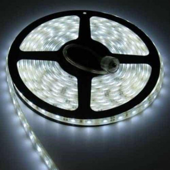 LED STRIP 12V , 300 SMD 5050 LED'S Waterdicht IP67 koud-wit 5m