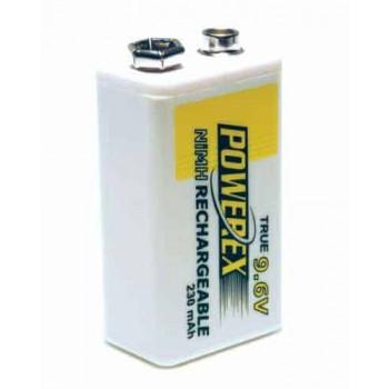 Herlaadbare 9V-batterij (E-Block) – 9V 230mAh – NiMH – 1 stuk