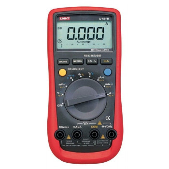 Moderne digitale multimeter - auto range met RS232 connectie