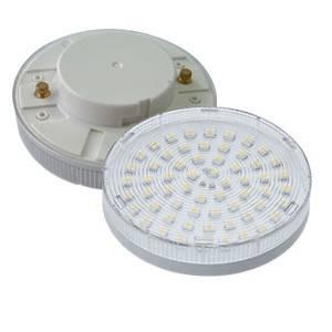 GX53 LED Lamp 230V 4 Watt een 9W spaarlamp vervanger