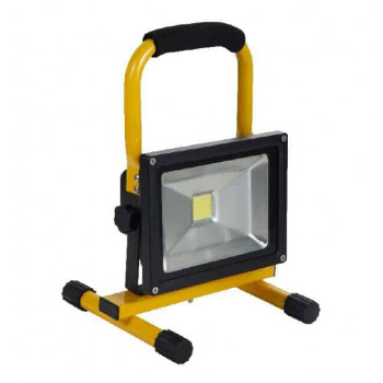 Batterij LED bouwlamp 20W