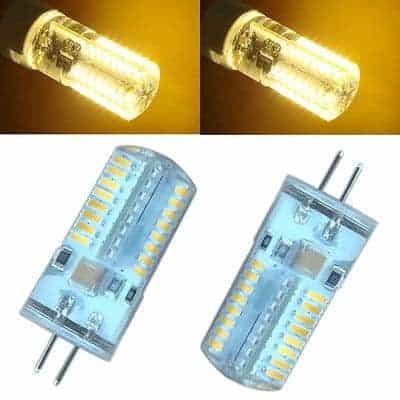 G4 (GU4) halogeen vervanger 3W LED lamp YARLED 12v AC/DC