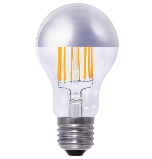 e27 filament led lamp met spiegel hoofd 4w 33w vervanger yarled. Black Bedroom Furniture Sets. Home Design Ideas