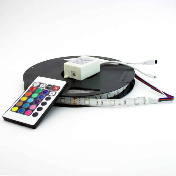 Set RGB LED strip 5m 14,4W/72W IP65