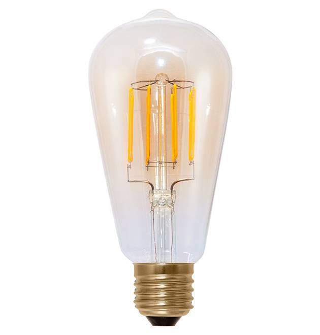 Led Filament Lamp 40w Dimbaar: E27 LED Lamp 6W-40W Rustieke Sfeer 2000k Dimbaar
