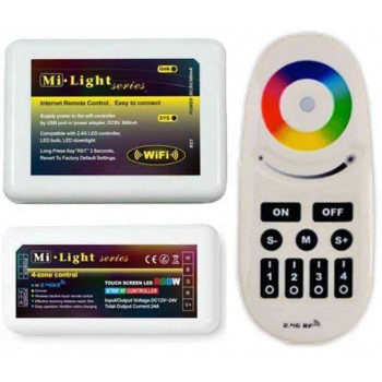Milight Wifi controller set Iphone/Android 12v/24v