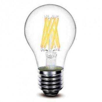 E27 filament LED lamp 8W dimbaar 2700k