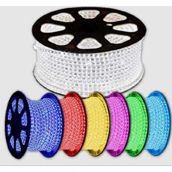 RGB LED strip set 230v per m IP68