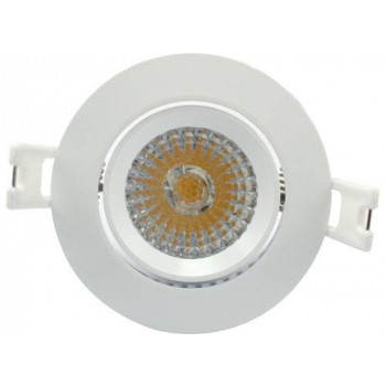 LED inbouw spot 6W dimbaar Warm-wit