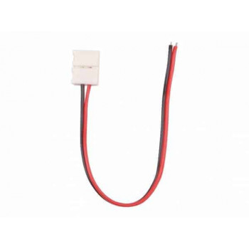 LEDstrip connector met kabel 1 kleur voor 8mm led strip