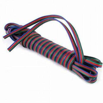 RGB LED strip draad (4 aderig)