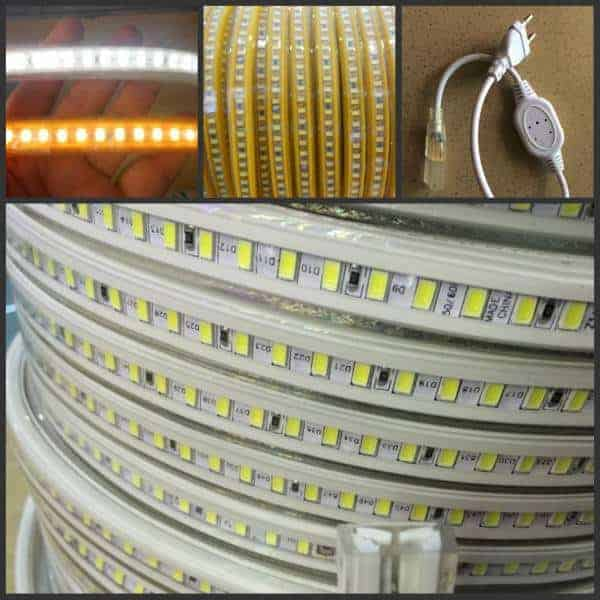 led strip 230v per m 5730smd yarled. Black Bedroom Furniture Sets. Home Design Ideas