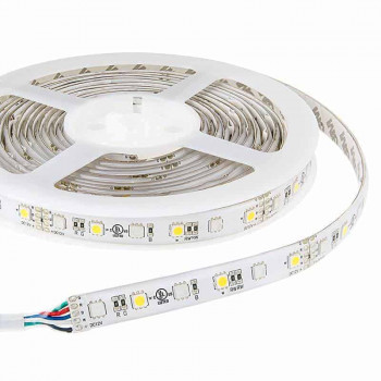 RGBW LED strip 12v 5m 300smd 5050 led's