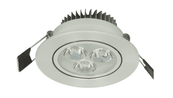 LED inbouwspot – downlight 3W Warm-wit