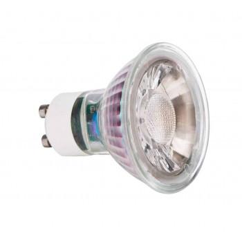 GU10 7W Glas LED spot 2700k dimbaar