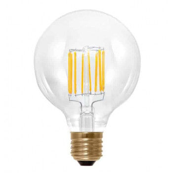 E27 8W LED bol 95mm Edison dimbaar G95 – 60W vervanger