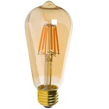 E27 LED lamp 8W-60W rustieke sfeer 2200k dimbaar ST64