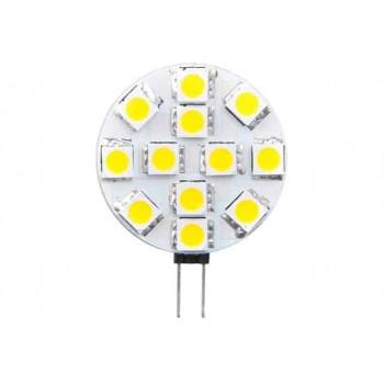 G4 LED halogeen vervanger plat 2W 6200k Koel-wit
