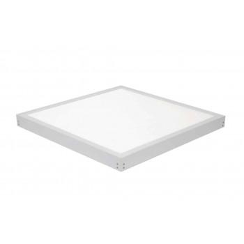 LED paneel 60 x 60 cm 40W met wit opbouw frame