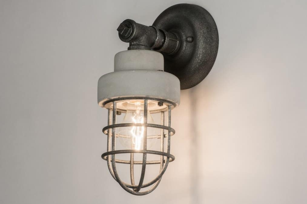 Ikea hack industriële staande lamp roomed