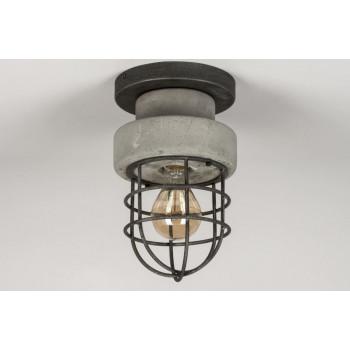 Stoere Plafondlamp met LED lamp 6w