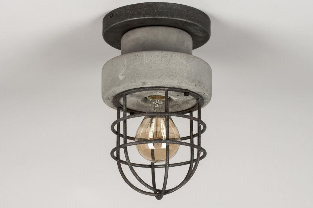 stoere plafondlamp met led lamp 6w yarled